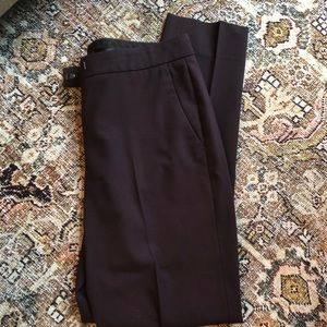 Theory wool suit pants Ibbey 2 Urban in eggplant